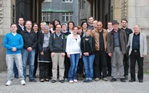 Teilnehmer und Dozenten der Fortbildung Online-PR und Marketing, ZIM-BB 2013