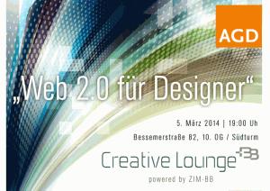 """Auftakt der Seminarreihe """"web 2.0 für Designer"""" - Vortrag vor Mitgliedern des ADG"""