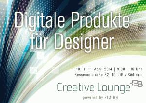"""Seminar """"Digitale Produkte und Vertriebswege für Designer"""" im April 2014 in Berlin"""